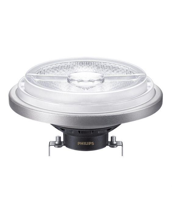 Philips LEDspot LV G53 AR111 12V 20W 830 24D MASTER   Dimbaar - Vervangt 100W