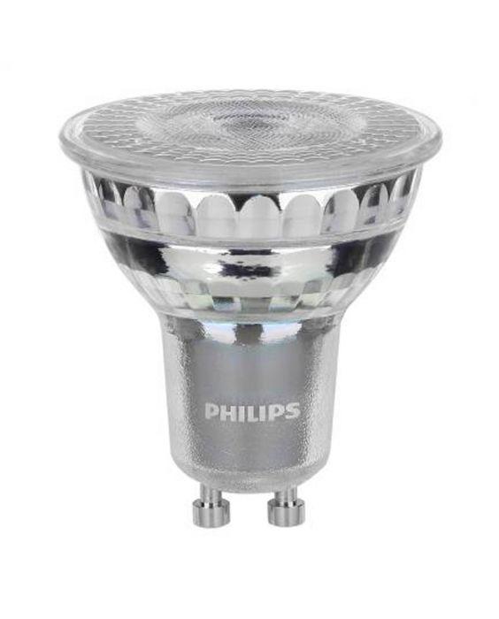Philips LEDspot Value GU10 6.2W 940 36D (MASTER) | Dimmerabile - Miglior resa cromatica - Bianco freddo - Sostituto 80W