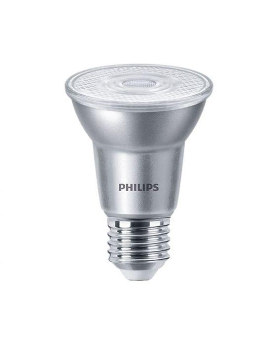 Philips LEDspot E27 PAR20 6W 830 25D 515lm (MASTER) | dæmpbar - varm hvid - erstatter 50W