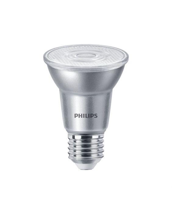 Philips LEDspot E27 PAR20 6W 827 40D 500lm (MASTER) | dæmpbar - ekstra varm hvid - erstatter 50W
