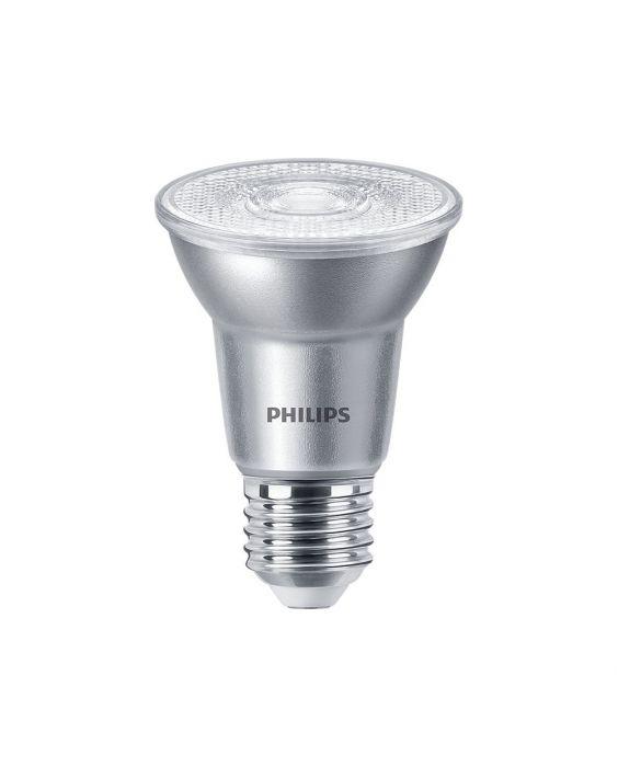 Philips LEDspot E27 PAR20 6W 840 40D 540lm (MASTER) | dæmpbar - kold hvid - erstatter 50W