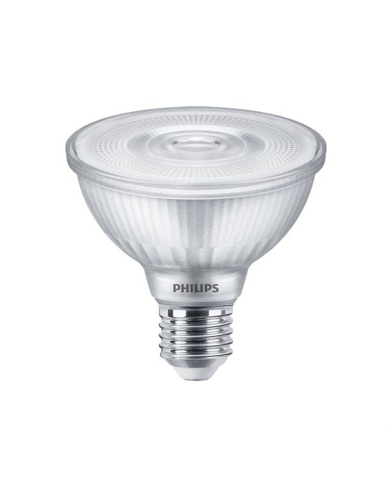 Philips LEDspot E27 PAR30S 9.5W 840 25D 820lm (MASTER) | dæmpbar - kold hvid - erstatter 75W