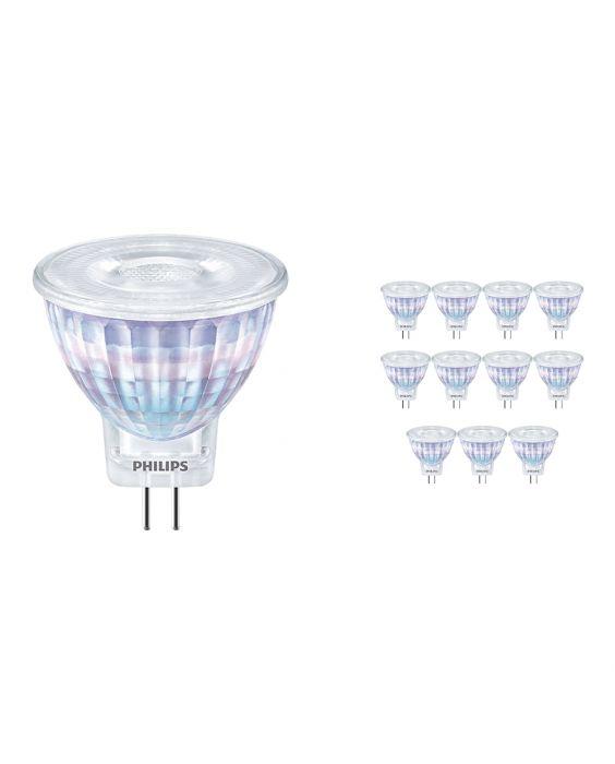 Voordeelpak 12x Philips CorePro LEDspot GU4 2.3W 827 36D | Zeer Warm Wit - Vervangt 20W