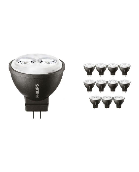 Voordeelpak 12x Philips LEDspot LV GU4 MR11 3.5W 827 24D (MASTER) | Zeer Warm Wit - Vervangt 20W