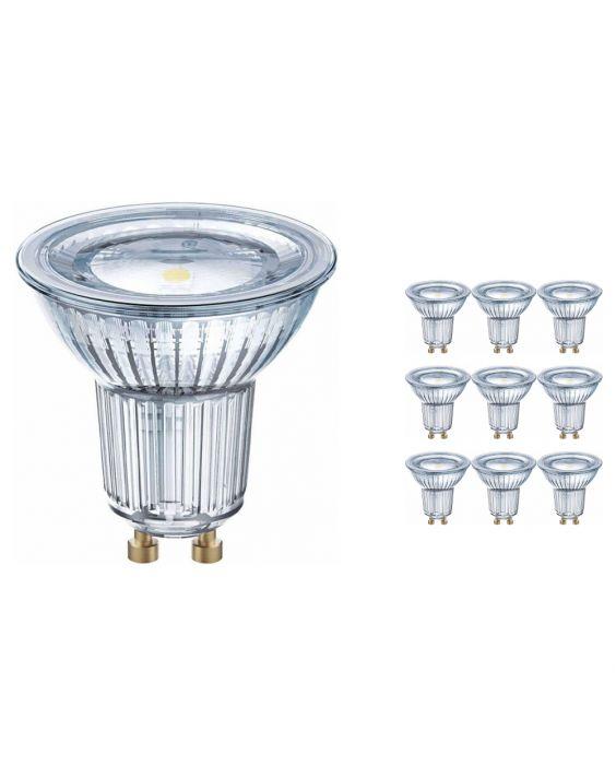 Fordelspakke 10x Osram Parathom GU10 PAR16 6.9W 827 120D | ekstra varm hvid - erstatter 80W