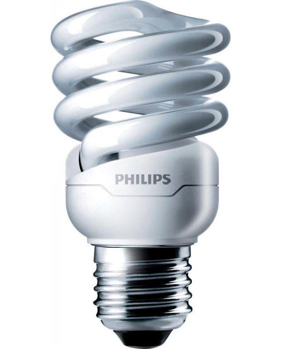 Philips Tornado T2 Spiral 12W 827 E27 | Extra Warmweiß
