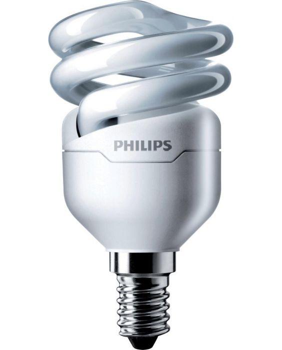 Philips Tornado T2 Spiral 8W 827 E14 | Extra Warmweiß
