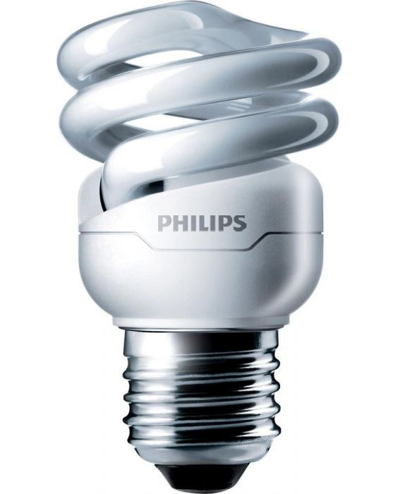 Philips Tornado T2 Spiral 8W 827 E27 | Extra Warmweiß