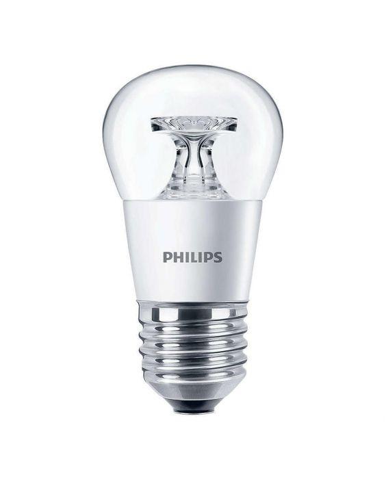 Philips CorePro LEDluster E27 P45 4W 827 Helder | Vervangt 25W