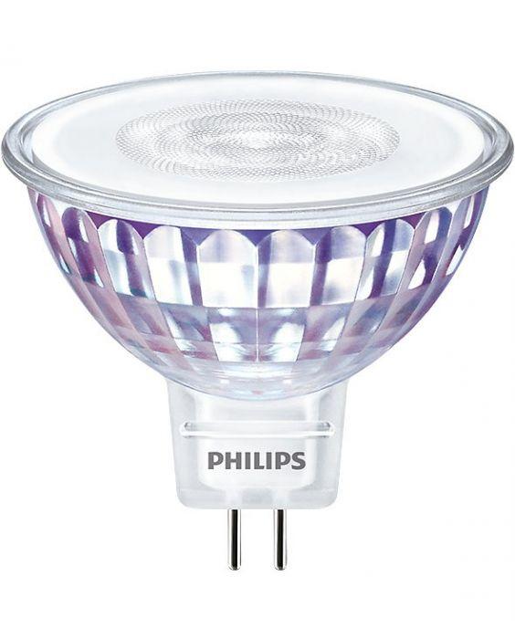 Philips LEDspot VLE GU5.3 MR16 7W 830 36D (MASTER) | Luce Calda - Dimmerabile - Sostituto 50W