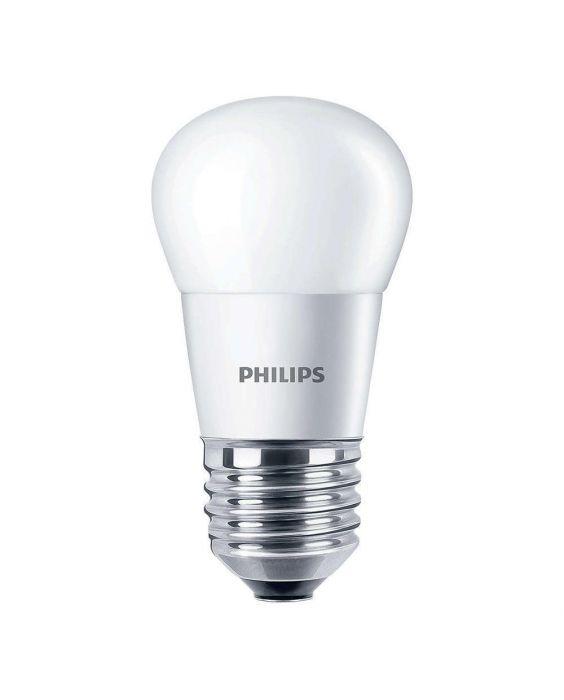 Philips CorePro LEDluster E27 P45 5.5W 827 Matt | Vervangt 40W