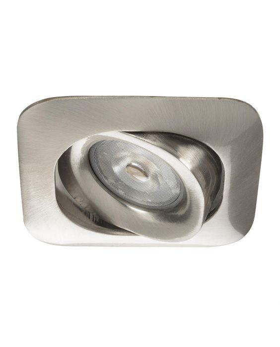 Noxion Spot MR16 Square Nickel | incl. GU10 Fitting
