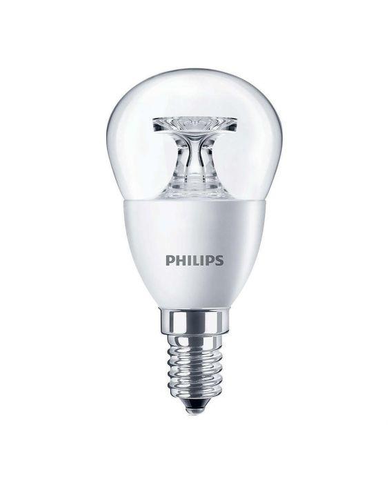 Philips CorePro LEDluster E14 P45 5.5W 827 Helder | Vervangt 40W