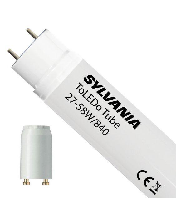 Sylvania ToLEDo EM T8 LED TL Buizen V3   incl. LED Starter