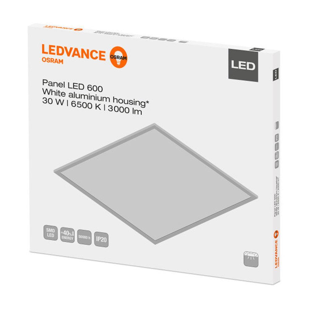 Ledvance LED Paneel 60x60cm 6500K 30W | Daglicht - Vervangt 4x18W