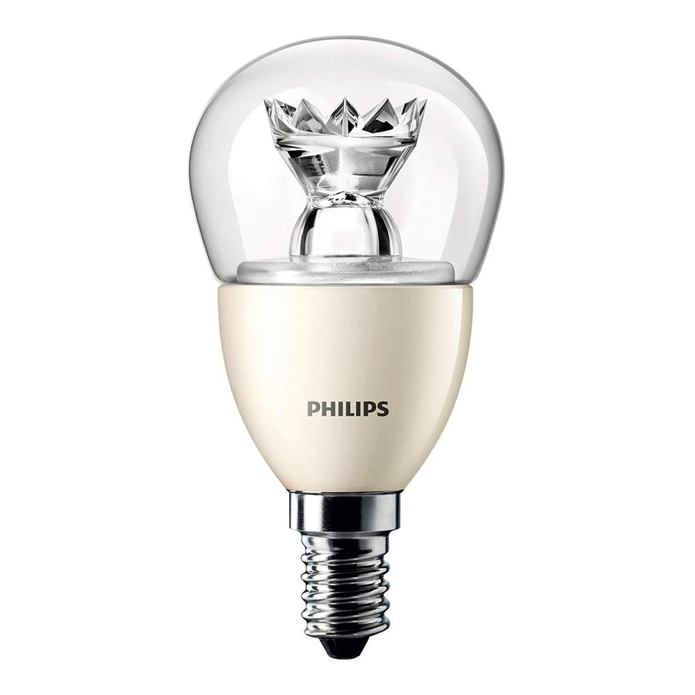 Philips LEDluster E14 P50 8W 827 Helder (MASTER) | DimTone Dimbaar - Vervangt 60W