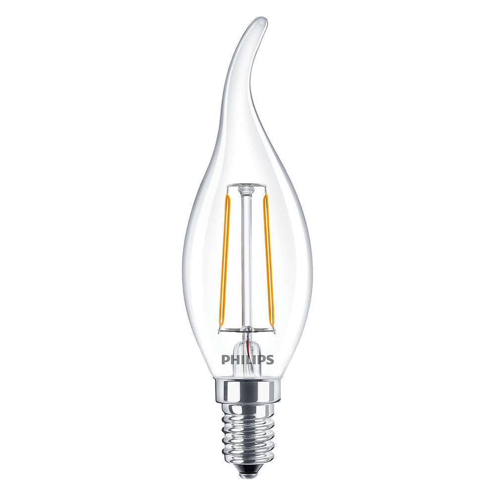 Philips Classic LEDcandle E14 BA35 2.5W 827 Helder | Vervangt 25W