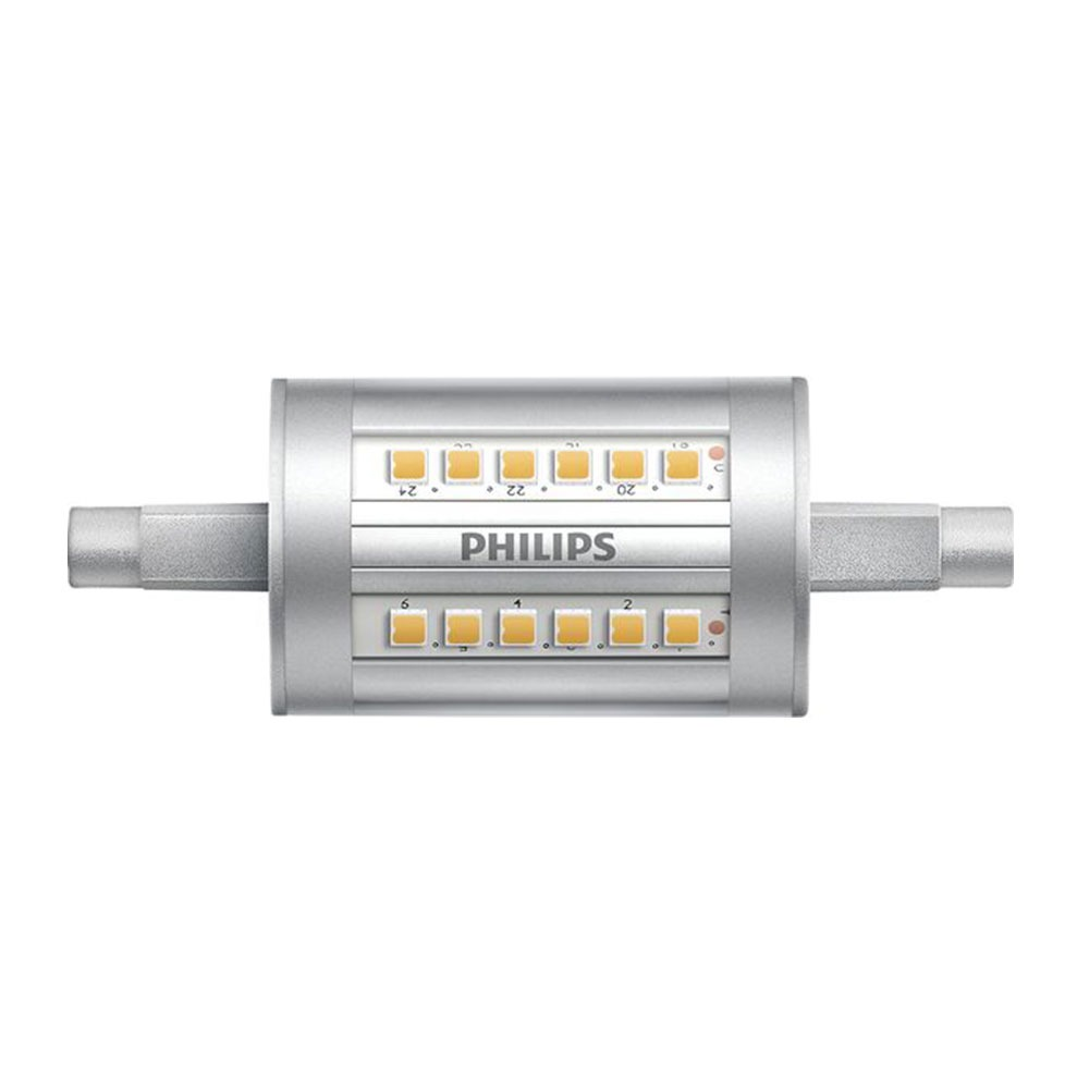 Philips CorePro LEDlinear R7s 7.5W 830 78mm | Vervangt 60W