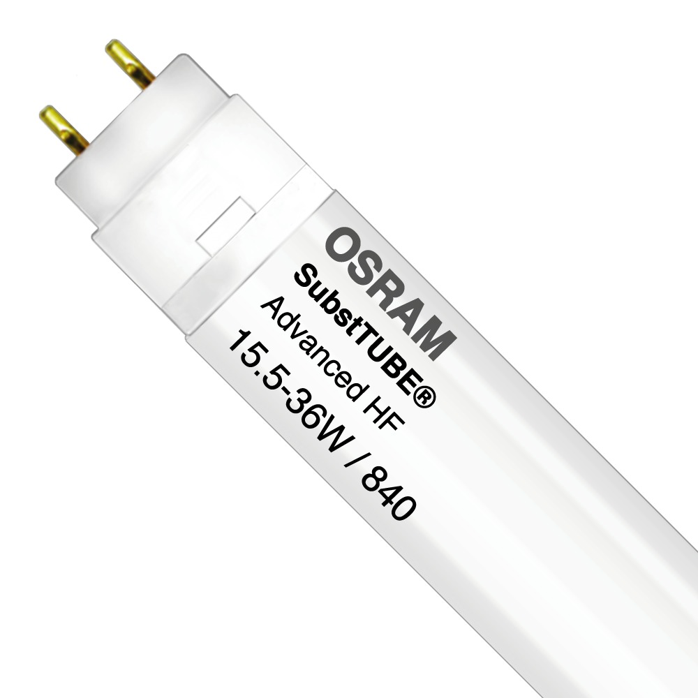 Osram SubstiTUBE Advanced HF UO 15.5W 840 120cm   Koel Wit - Vervangt 36W