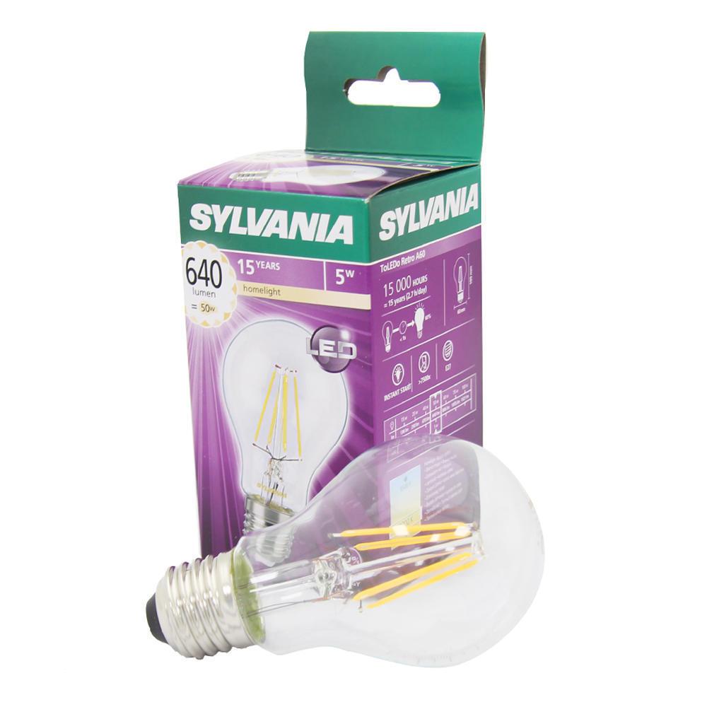 Filament ToLEDo Retro 5W A60 640LM E27 SL