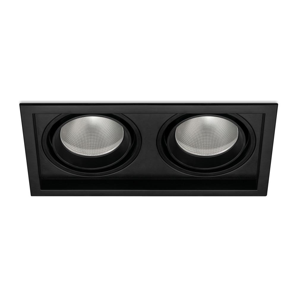Lampdirect Magnum LED Downlight 60W 830 4800lm Zwart   Warm Wit