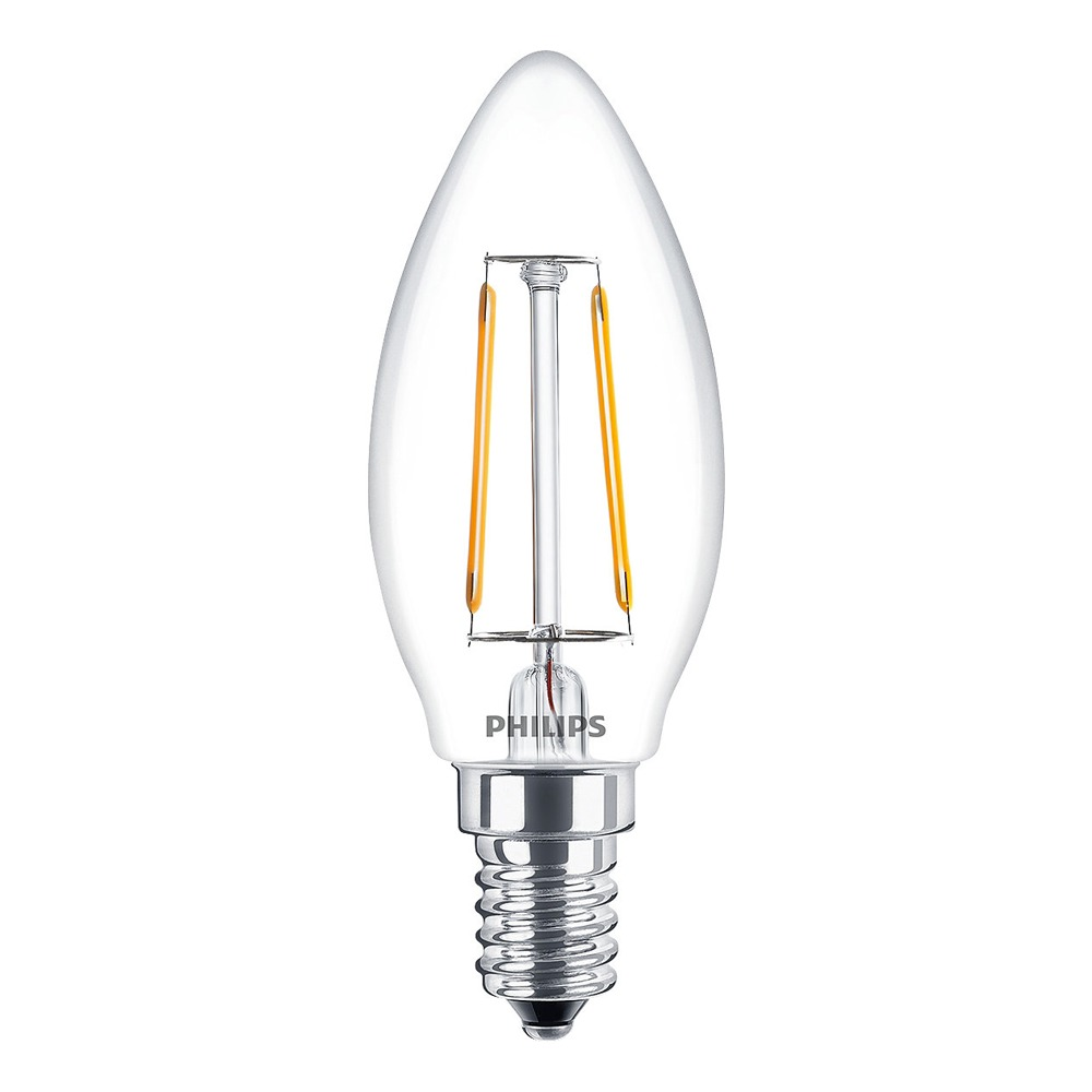 Philips Classic LED Candle ND 2-25W B35 E14 827 CL