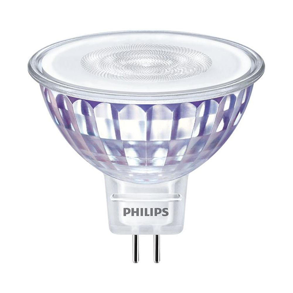 Philips LEDspot LV Value GU5.3 MR16 5.5W 827 36D (MASTER)   Zeer Warm Wit - Dimbaar - Vervangt 35W