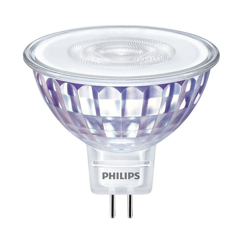Philips LEDspot LV Value GU5.3 MR16 5.5W 840 36D (MASTER) | Koel Wit - Dimbaar - Vervangt 35W