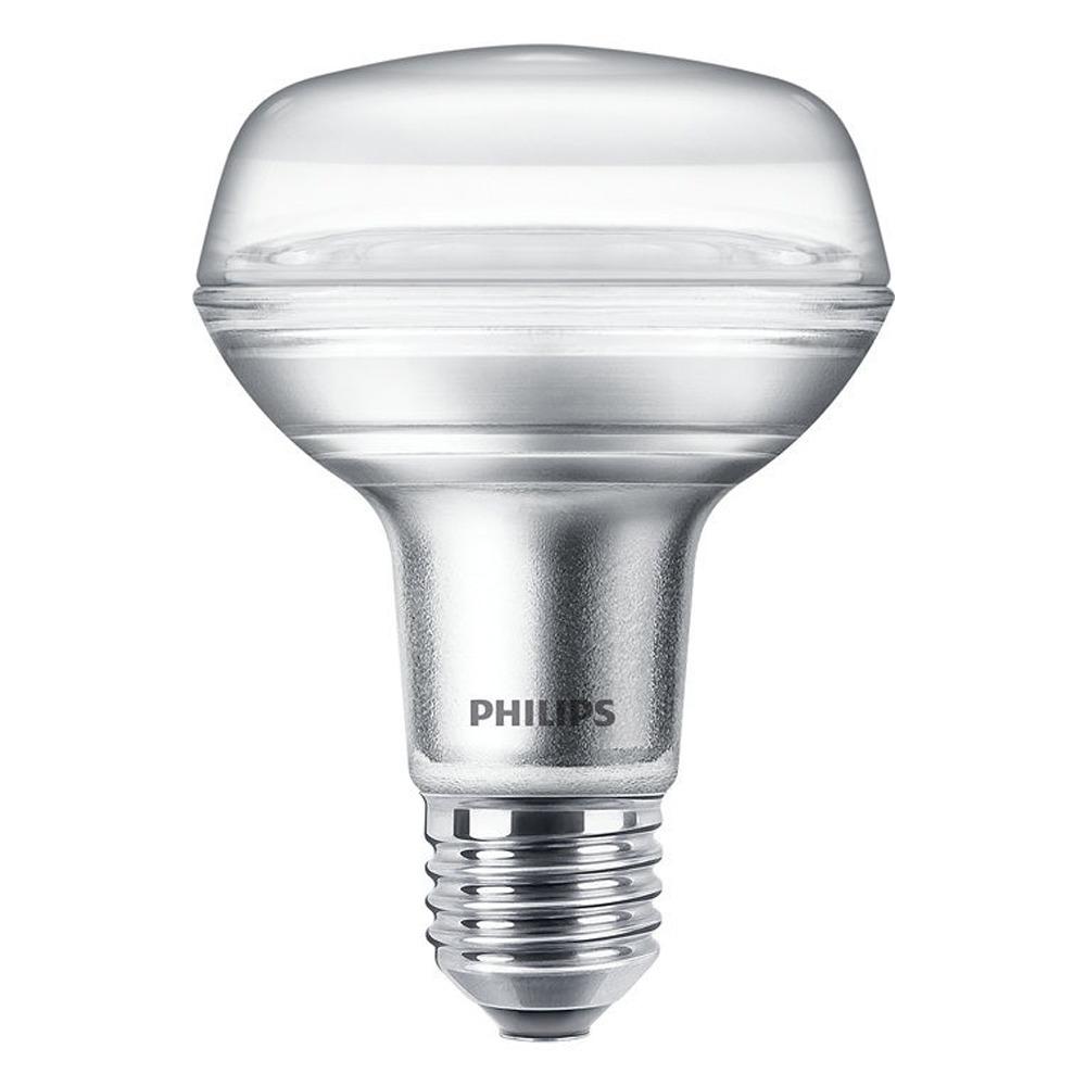 Philips CorePro LEDspot E27 Reflector R80 8W 827 36D | Extra Warm Wit - Vervangt 100W