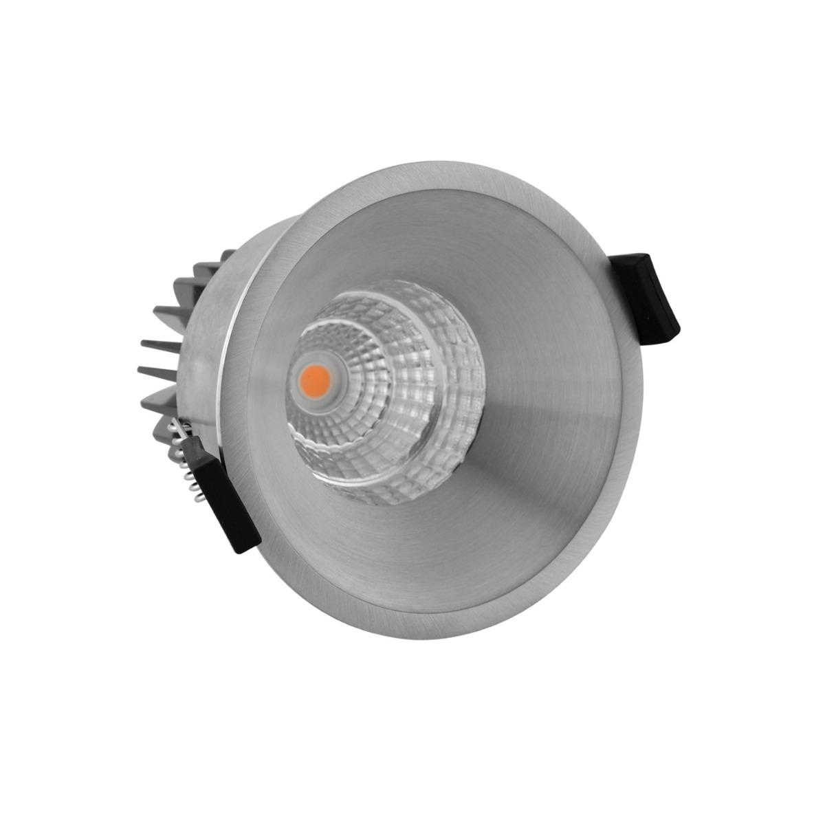 Noxion LED Spot Starlight IP54 2700K Aluminium 6W   Beste Kleurweergave - Dimbaar