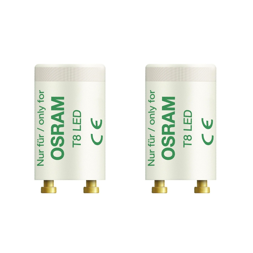 2x Osram SubstiTUBE T8 LED Starter