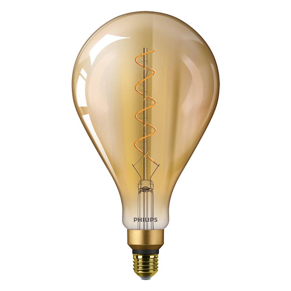 Philips Classic LEDbulb Vintage E27 A160 5W 820 Goud | Vervangt 25W