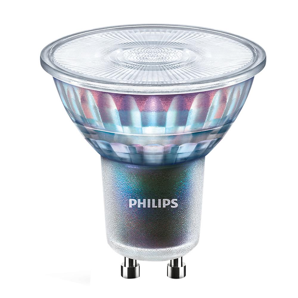 Philips LEDspot ExpertColor GU10 3.9W 927 25D (MASTER) | Beste Kleurweergave - Zeer Warm Wit - Dimbaar - Vervangt 35W