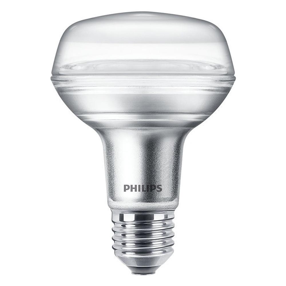 Philips CorePro LEDspot E27 Reflector R80 4W 827 36D | Extra Warm Wit - Vervangt 60W