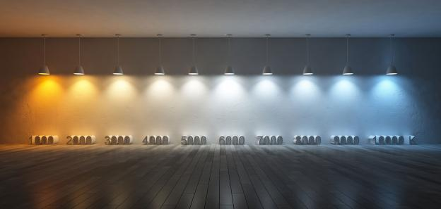 Which colour temperature for LED?