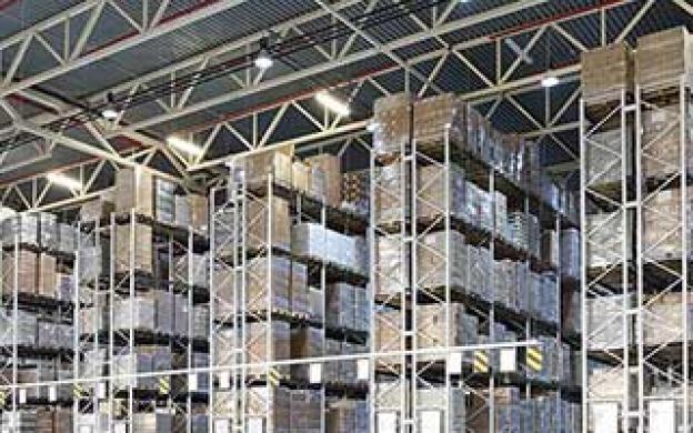 LED-belysning för industri- och lagerlokaler
