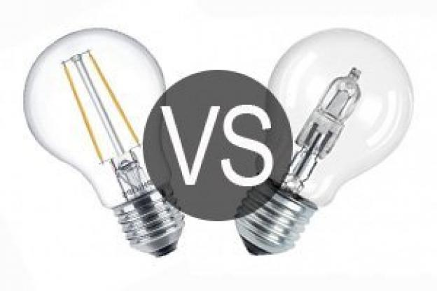 LED VS halogenlampor