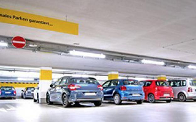 Illuminazione LED per parcheggi