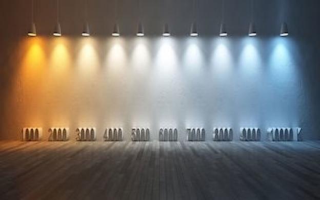 ¿Qué temperatura de color se aconseja para la iluminación LED?
