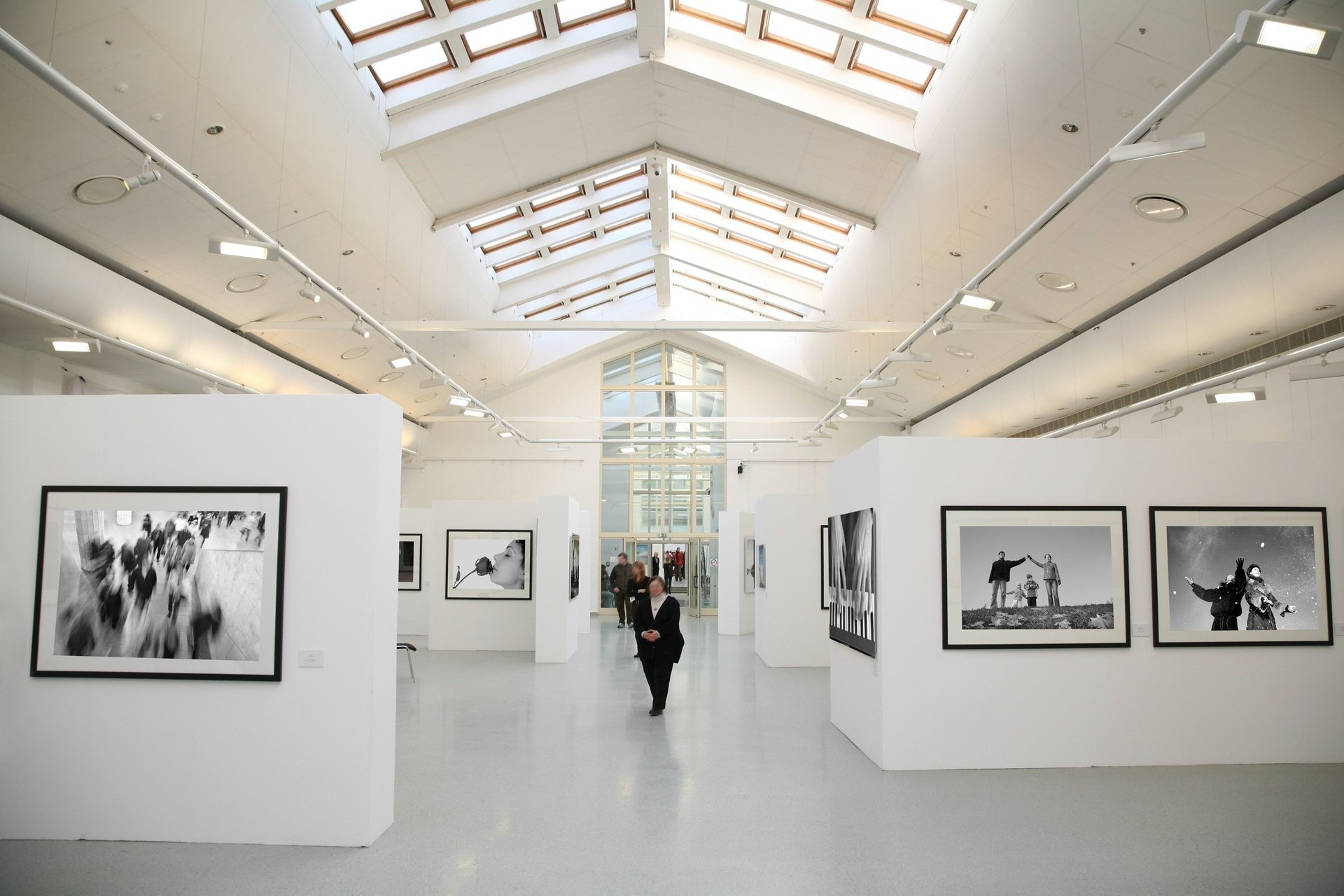 museum with DALI LED panels