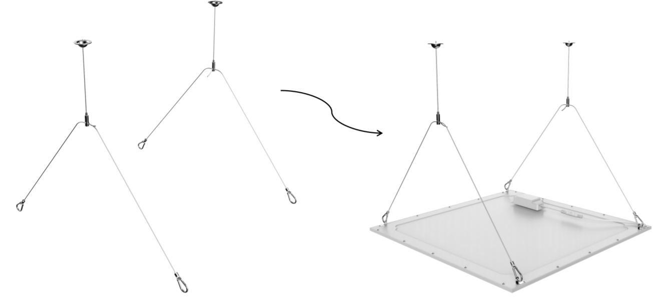 Aufhänge-Kit für Noxion LED-Panels