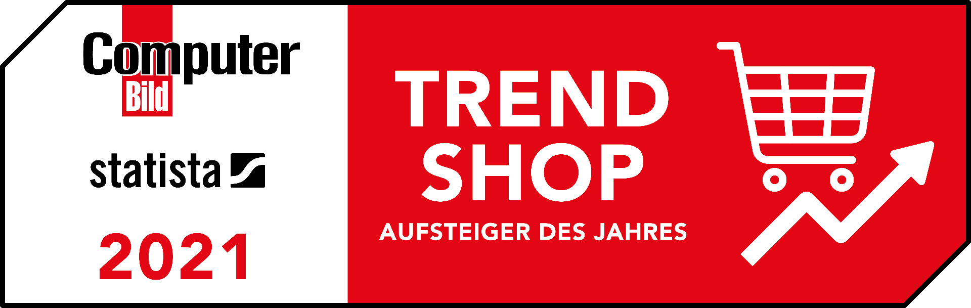 Zertifikat Trend Shop 2021 BeleuchtungDirekt