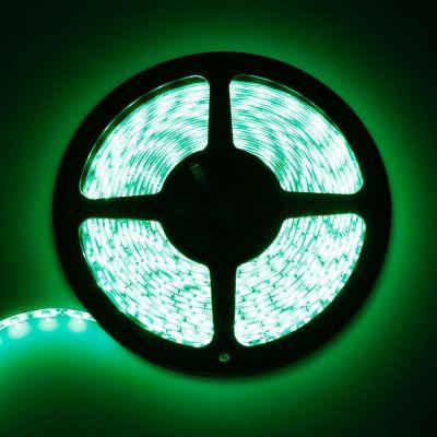 LED-Streifen grün