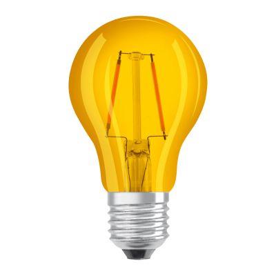 Osram LED STAR DECO Classic A Color E27 2.5W yellow