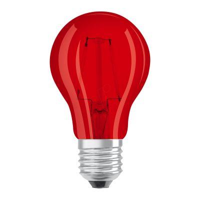 Osram LED STAR DECO Classic A Color E27 2.5W red