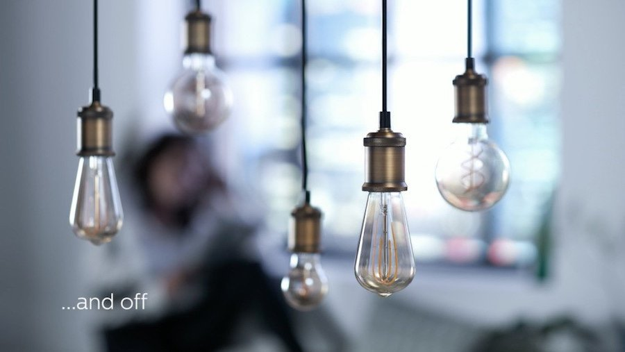 Filament bulb shape