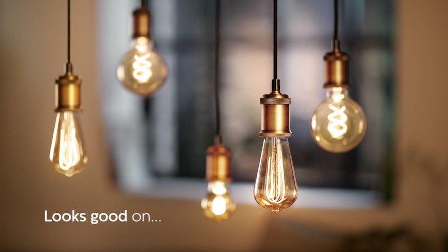 Filament bulb glow
