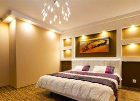 Bedroom LED lighting