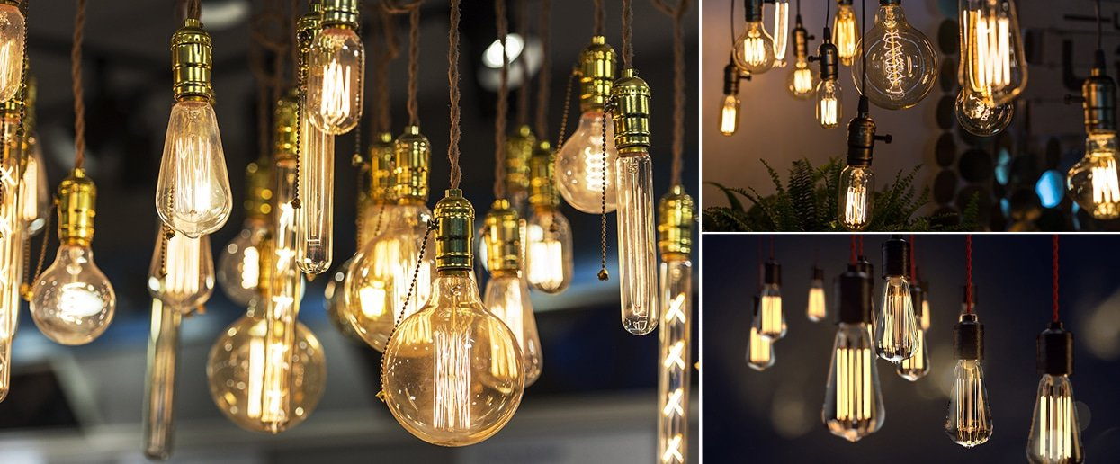 LED Retro and Vintage Bulbs   Any lamp