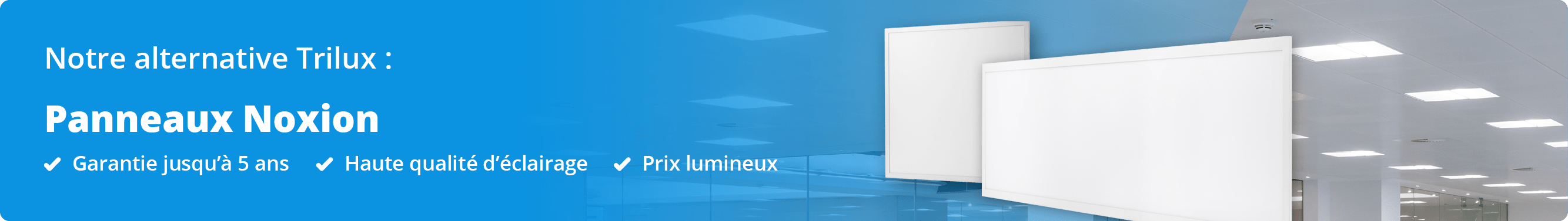 Alternative Panneau LED Trilux